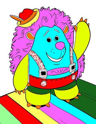Mr prinklepants coloring page