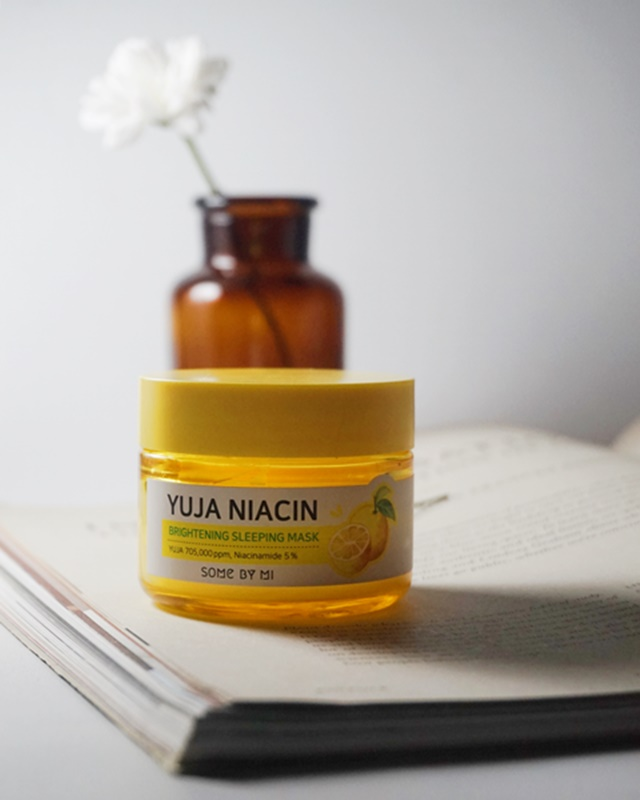 Some By Mi Yuja Niacin Brightening Sleeping Mask, some bye mi, korean skincare, beauty product