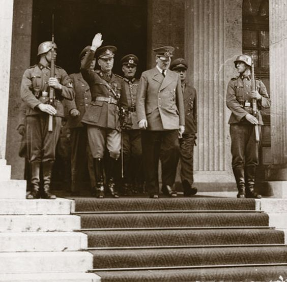 Adolf Hitler and Romanian General Ion Antonescu 10 June 1941 worldwartwo.filminspector.com