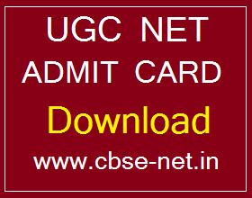 image : CBSE UGC NET Admit Card Download @ CBSE-NET.IN