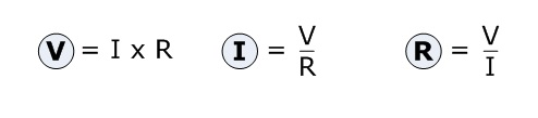formulas ohm