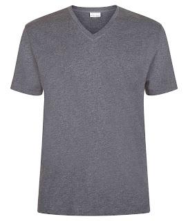 Jenis Kaus Polos Kerah V