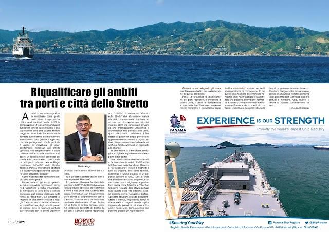 AGOSTO 2021 PAG. 18 - Riqualificare gli ambiti tra porti e città dello Stretto