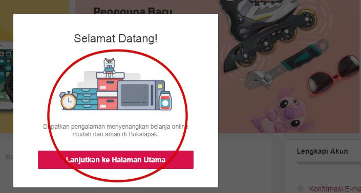 Welcome Bukalapak.com