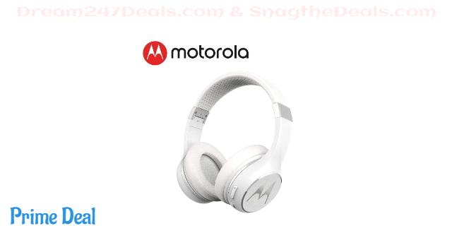 50% OFF Motorola Lifestyle Studio-Quality Escape 220 Over Ear Wireless Bluetooth Over-Ear Headset Headphone Earphone