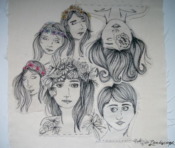 Ilustração Bordada Thaís Melo