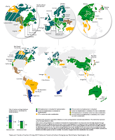State and Trends of Carbon Pricing 2019 (Image credit: State and Trends of Carbon Pricing 2019, World Bank) Click to Enlarge.