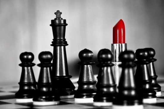 chess femdom king queen power analogy