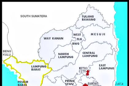 Jumlah Kabupaten yang ada di Provinsi Lampung Terbaru