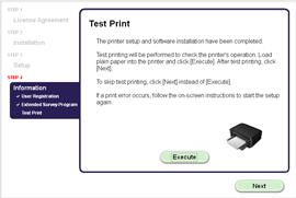 How to install CANON E400 printer for window installation