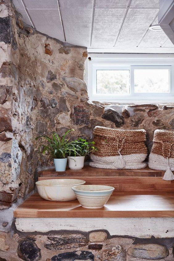 BOISERIE & C.: Come vivere in un seminterrato: 25 idee