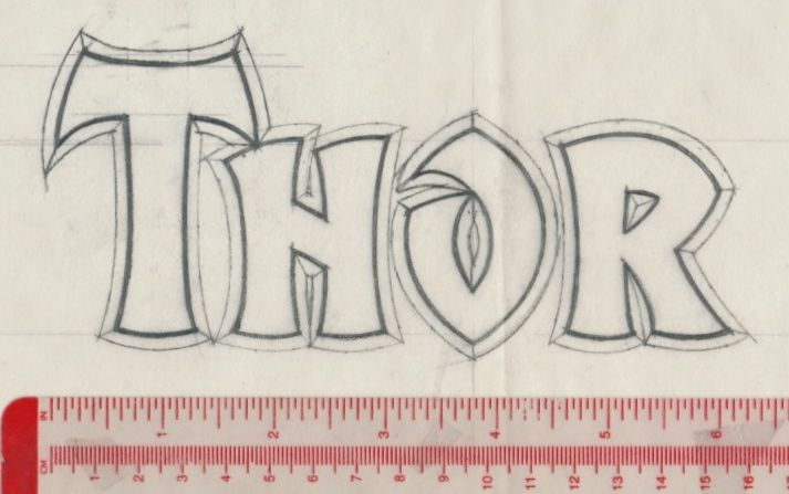 Tenth letter of the alphabet anatomy of a logo the mighty thor part 7
