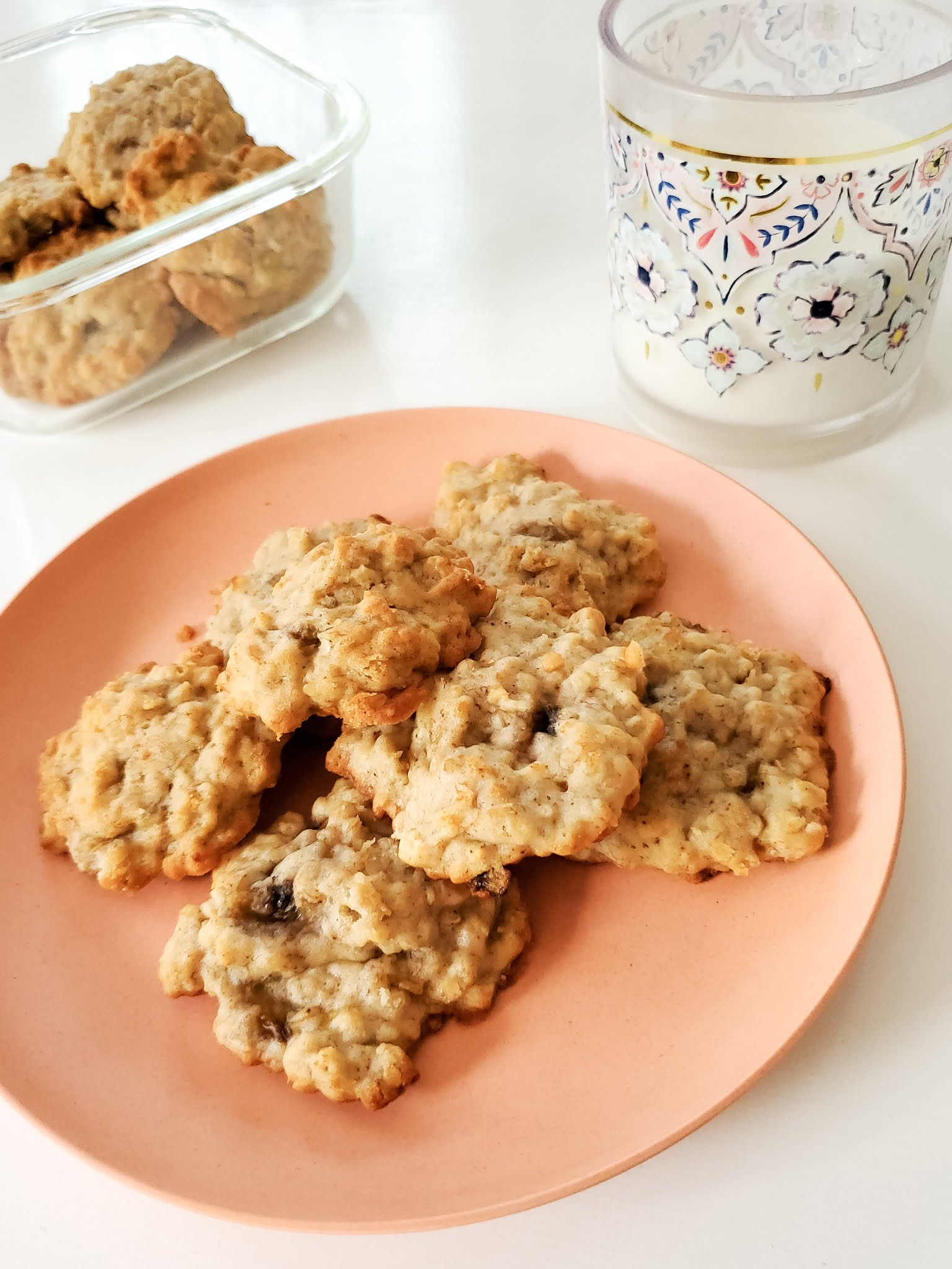 Delicious and easy Banana Oatmeal cookies recipe