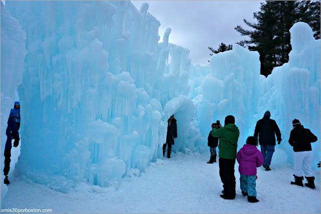 Castillos de HIelo en New Hampshire