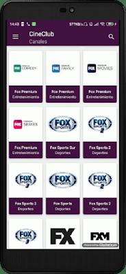 تحميل تطبيق cineclub الجديد لمشاهدة القنوات المشفرة مباشرة على اجهزة الأندرويد