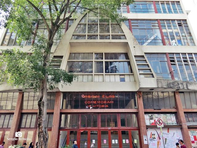 Vista da fachada da Casa do Povo - Bom Retiro - São Paulo