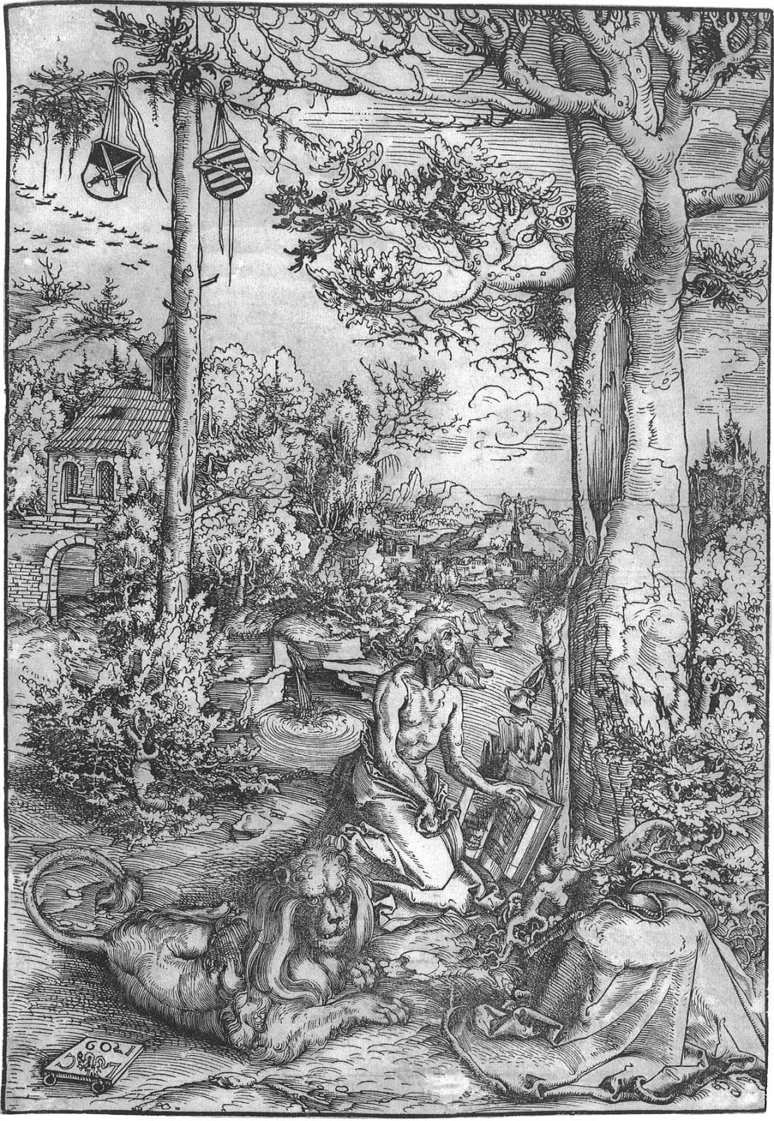 Liegende Quellnymphe - Lucas Cranach d. Ä. as art print or