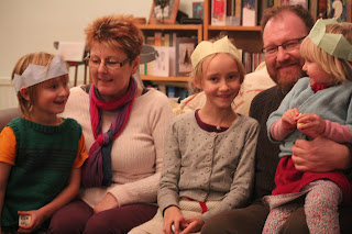 Kids with Uncle Chris and Anthea