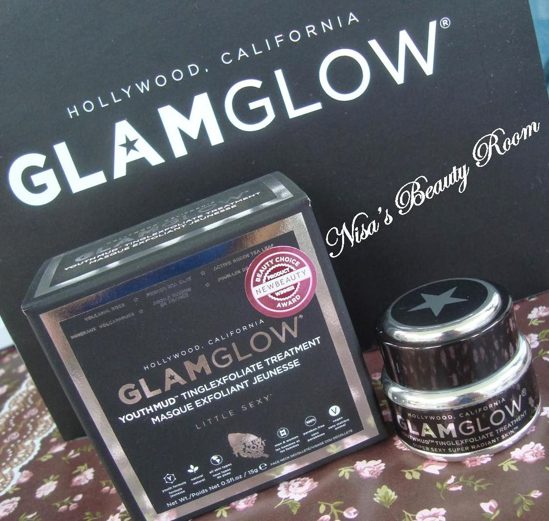 Review Glamglow Youth Mud Tinglexfoliate Treatment