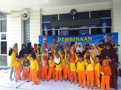 185 Anak TK Kunjungi Satlantas Polres Batang