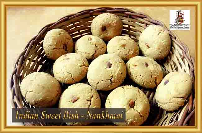 Indian Sweet Dishes - Nankhatai