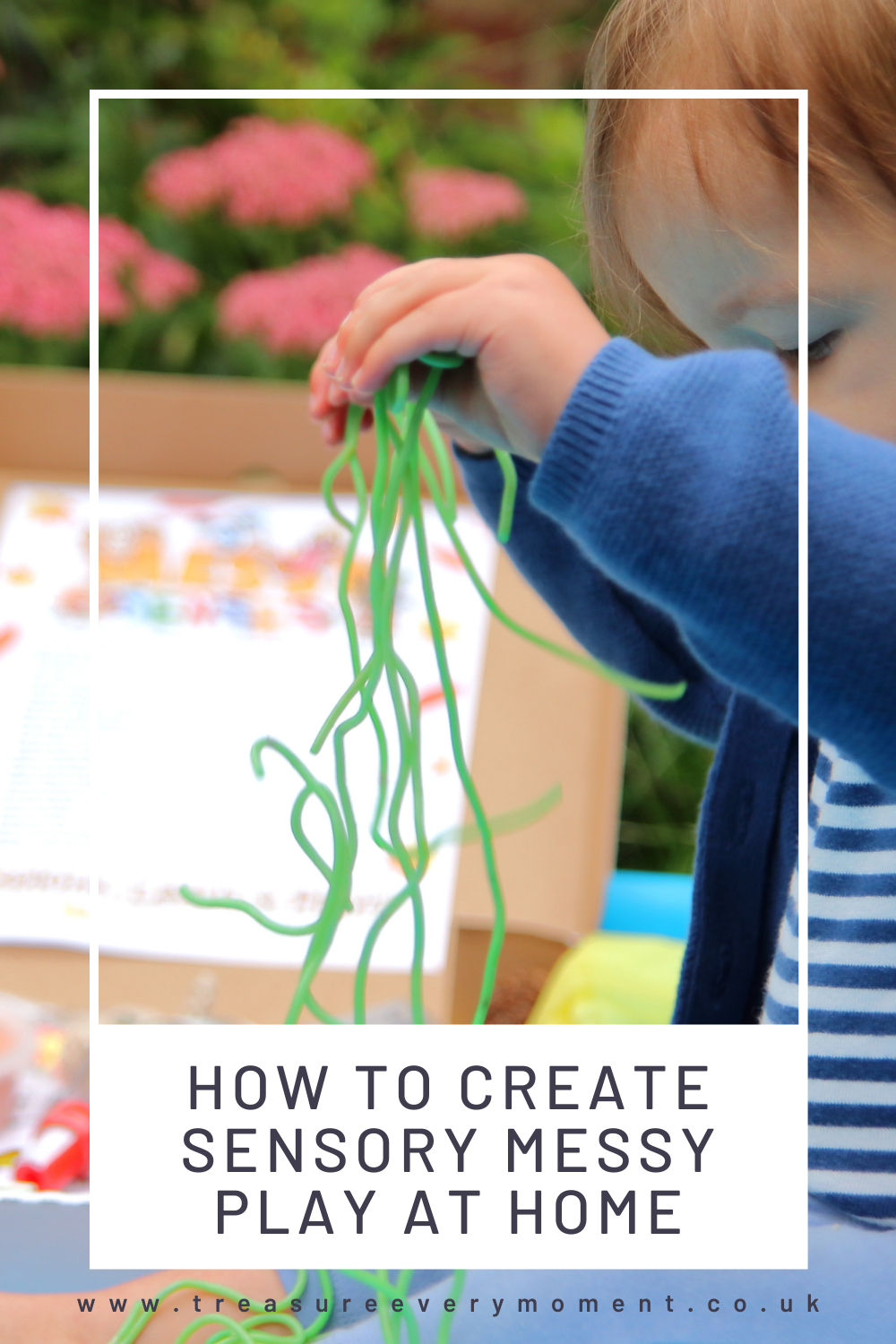 BABY & TODDLER: How to Create Sensory Messy Play at Home with Messy Senses