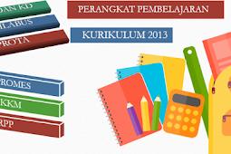 Perangkat Pembelajaran SD / MI Kurikulum 2013 Semua kelas