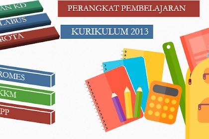 Perangkat Pembelajaran PJOK Kelas 4 Semester 1 Kurikulum 2013