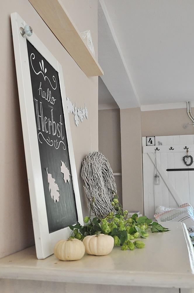 smillas wohngef hl diy herbstliche girlande aus papier n hen. Black Bedroom Furniture Sets. Home Design Ideas