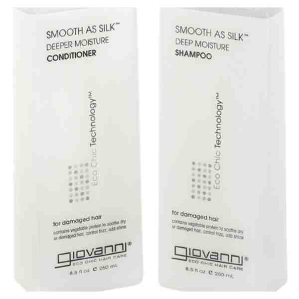 Giovanni Smooth As Silk Shampoo & Conditioner Review