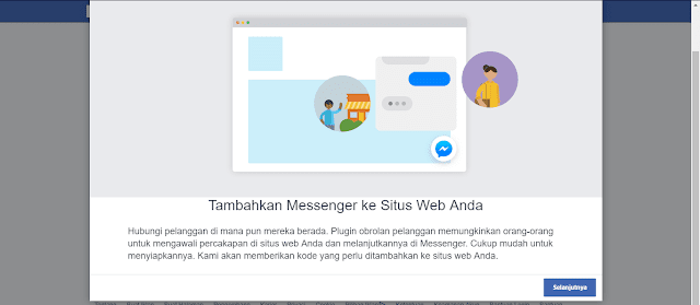 Cara Membuat Tombol Live Chat Facebook Messenger di Blog