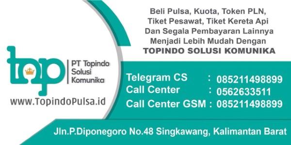 TopindoPulsa.id adalah Web Resmi Server Pulsa PT Topindo Solusi Komunika