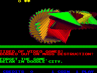 Doodle City - Arcade I, Robot