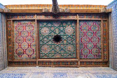 """Ceilings of Uzbekistan"" 4"