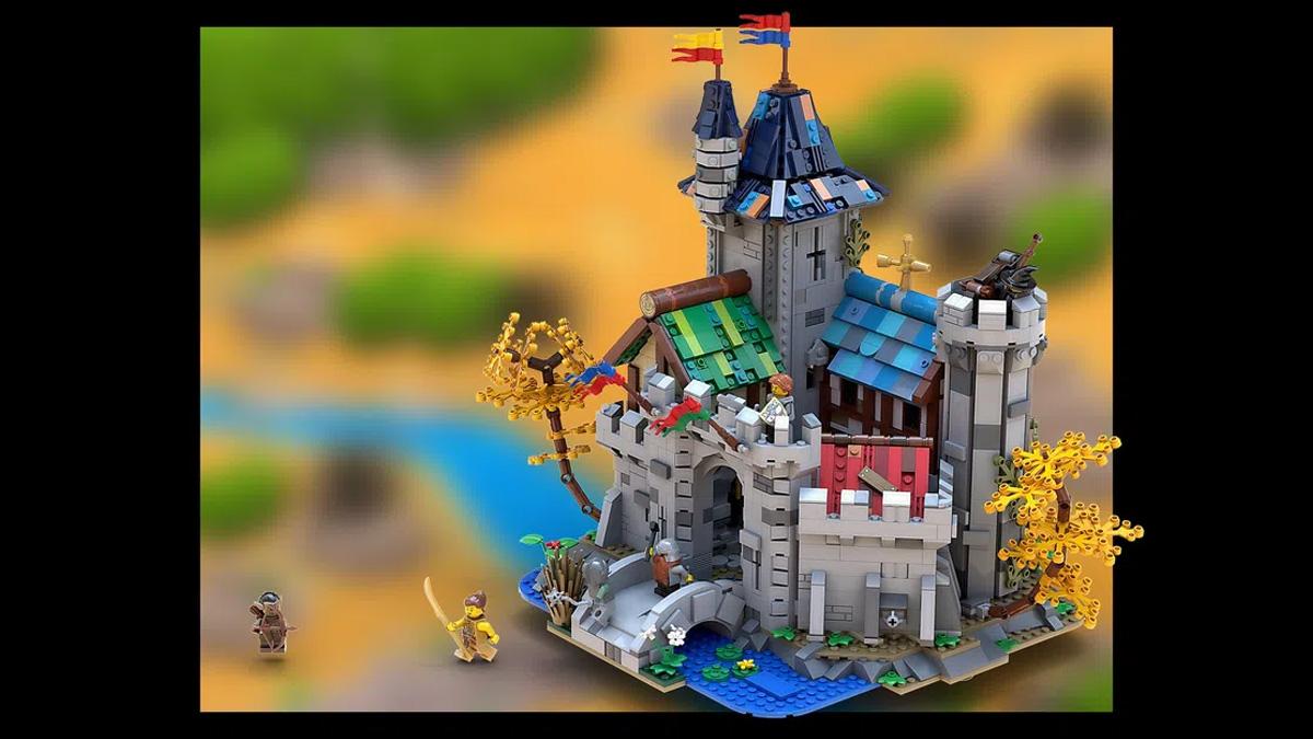 レゴアイデアで『ファンタジーキャッスル』が製品化レビュー進出!2021年第1回1万サポート獲得デザイン紹介