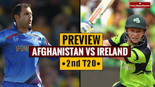 Today Match Prediction Afghanistan vs Ireland 2nd T20