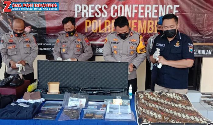 Penipu 4,7 M asal Wuluhan Diamankan di Polsek Wuluhan Jember