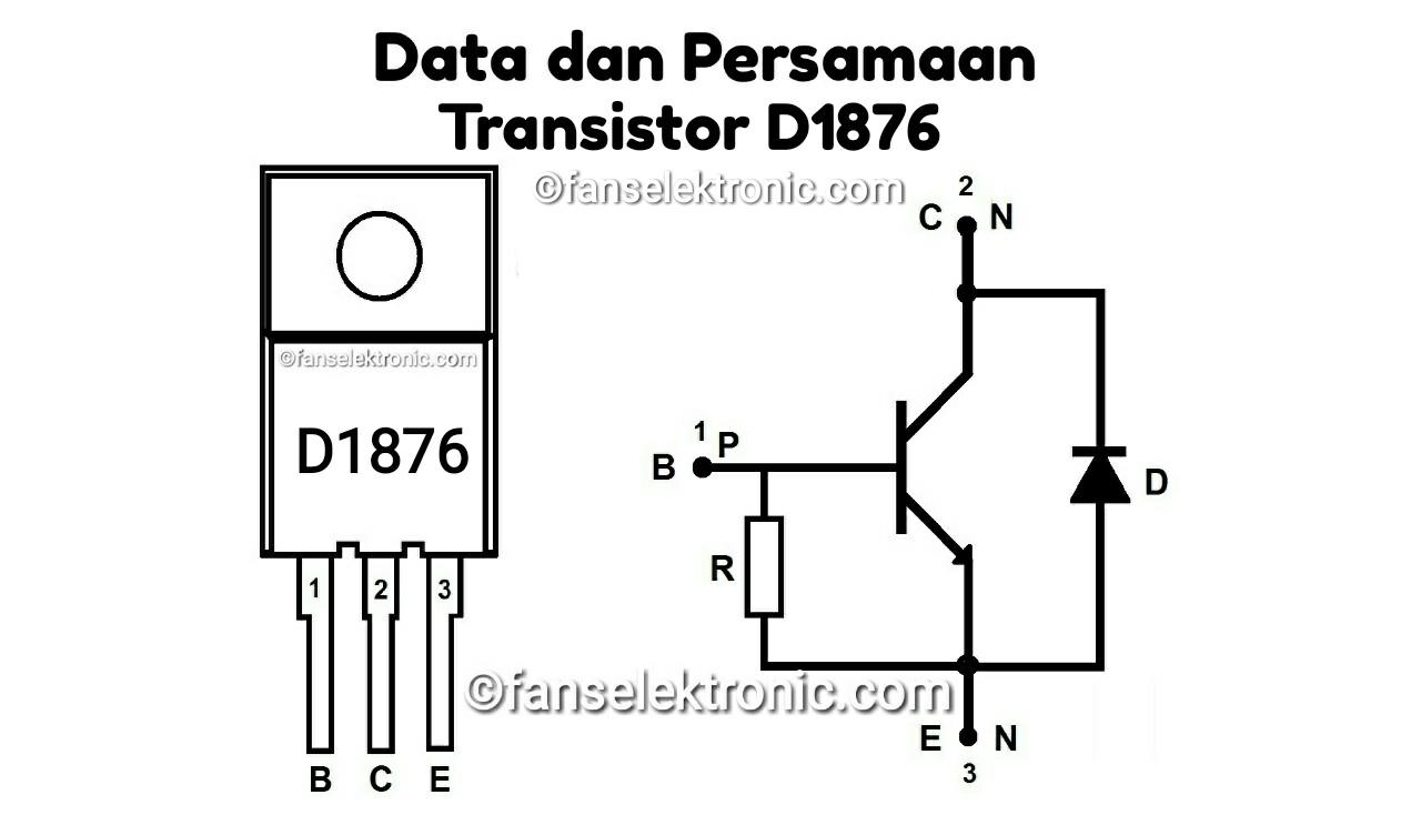 Persamaan Transistor D1876