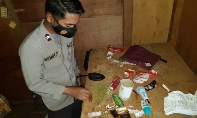 Polisi Temukan Ganja Siap Edar di Oksibil
