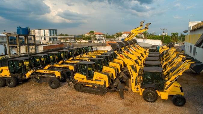 Máquinas New Holland Construction agilizarão a infraestrutura do Acre