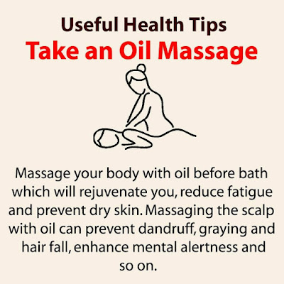 Health Tips - Take an Oil Massage