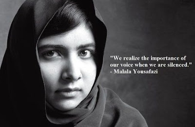 Malala Yousafazi Freedom Quotes, Empowerment Quotes