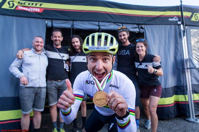 Nino Schurter vai estará no Mundial de MTB XCM em 2021 - Foto: Elba Island - Tuscany Italy
