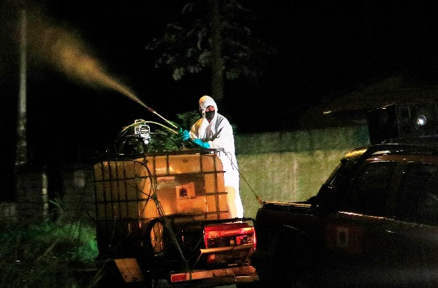 Prefeitura lança Operação Desinfecção nas ruas para evitar contaminação pelo novo Coronavírus