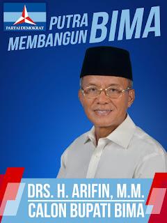 Mantan Sekot Jakarta Timur, H Arifin, Siap Tampil di Pilkada Bima 2020