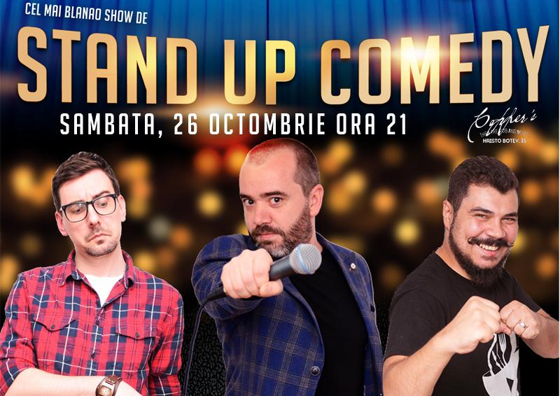 Stand-Up Comedy Sambata seara in Bucuresti