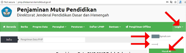Cara Download Rapor Mutu PMP File Excel