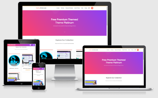 Idntheme premium blogger template
