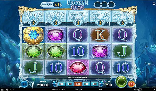 Main Gratis Slot Indonesia - Frozen Gems (Play N GO)
