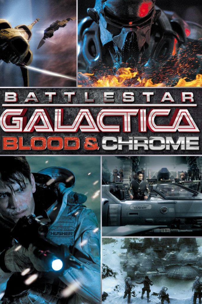 Battlestar Galactica: Blood and Chrome 720p Latino/Ingles